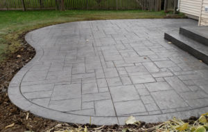 If You Want A Concrete Patio With That Special Touch, We Can Install  Custom Built Accent Border.